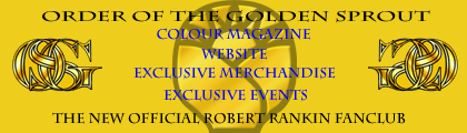 Order of the Golden Sprout: The New Robert Rankin Fan Club